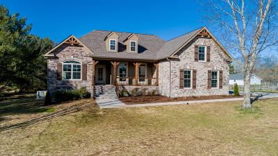 Columbia Single Family Home For Sale: 3992 Bigbyville Rd Lot 16