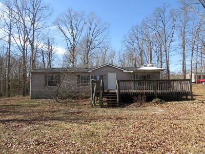 Erin Single Family Home Under Contract - Showing: 974 Half Pone Rd