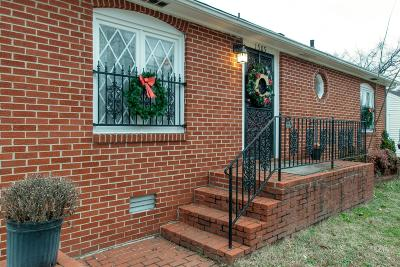 Nashville Single Family Home For Sale: 1505 23rd Ave. North