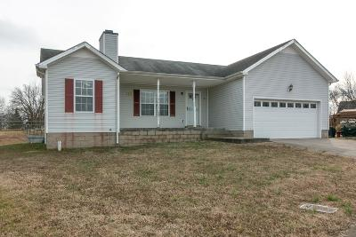 Clarksville Single Family Home Under Contract - Not Showing: 301 Fortway Rd