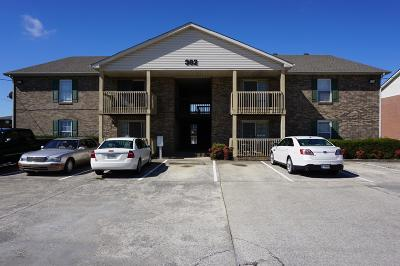 Clarksville Single Family Home Under Contract - Not Showing: 382 Jack Miller Blvd Apt H