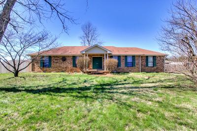 Gallatin Single Family Home Under Contract - Showing: 1176 Langwood Dr