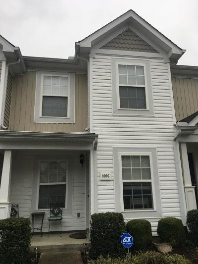 Lavergne Condo/Townhouse Under Contract - Not Showing: 1006 Arlene