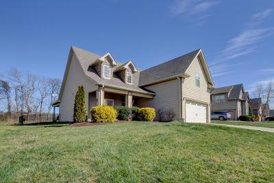 Clarksville Single Family Home Under Contract - Showing: 1381 Judge Tyler Dr
