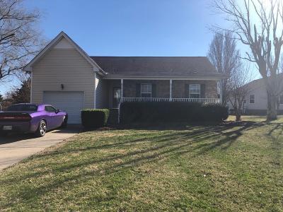 White House Single Family Home For Sale: 129 Lauren Dr
