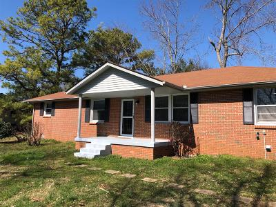 Lavergne Single Family Home Under Contract - Showing: 135 Vaughn St