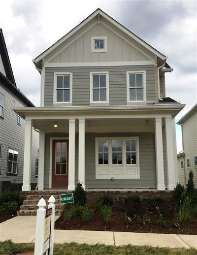 Franklin, Nashville Single Family Home For Sale: 1024 Beckwith Street # 2005