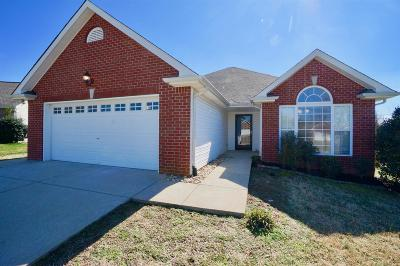 Lebanon Single Family Home Under Contract - Showing: 104 Carter Grove Ct