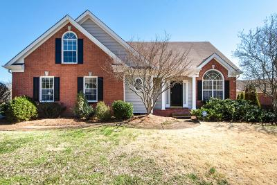 Franklin Single Family Home Under Contract - Showing: 129 Crestfield Pl