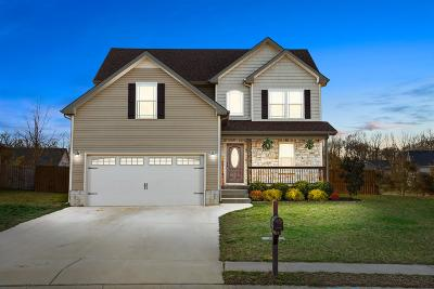 Clarksville Single Family Home Under Contract - Not Showing: 1928 Bell Chase Way