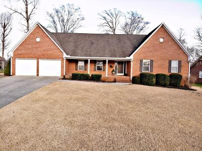 Cookeville Single Family Home Under Contract - Not Showing: 2016 Grademere Drive