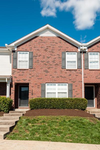 Smyrna, Lascassas Condo/Townhouse Under Contract - Not Showing: 123 Wolverine Ct