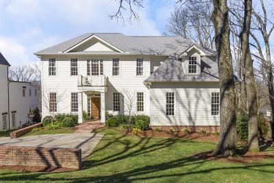 Davidson County Single Family Home For Sale: 4015 Sunnybrook Dr