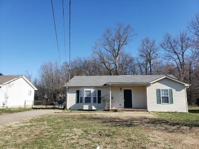 Christian County Single Family Home For Sale: 805 Carbondale