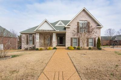 Hermitage Single Family Home Under Contract - Not Showing: 1304 Fishers Meadows Cove
