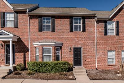 Franklin Condo/Townhouse Under Contract - Not Showing: 1101 Downs Blvd, #275