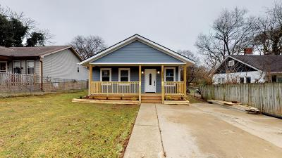 East Nashville Single Family Home For Sale: 1213 Stockell St