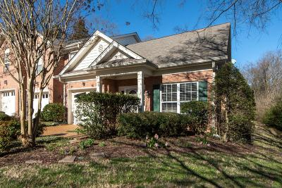 Franklin Condo/Townhouse Under Contract - Not Showing: 1654 Brentwood Pointe