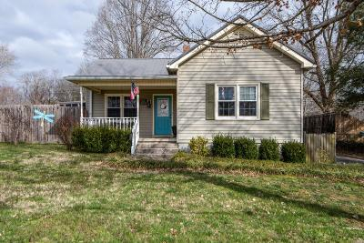Columbia Single Family Home Under Contract - Not Showing: 311 3rd Ave