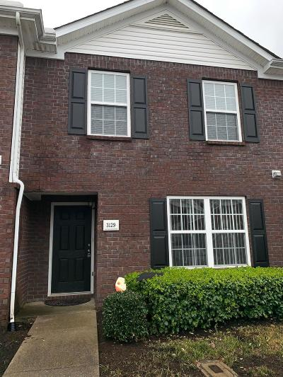 Lavergne Condo/Townhouse Under Contract - Not Showing: 3129 George Buchanan Dr