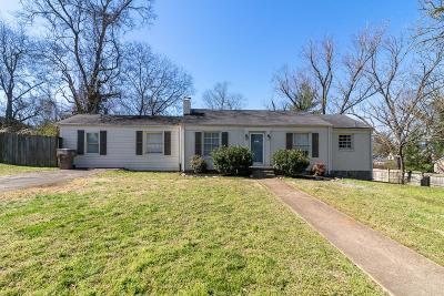 Nashville Single Family Home For Sale: 3803 Oxford St