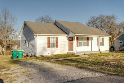 Lewisburg Single Family Home Under Contract - Showing: 1561 Titan Way