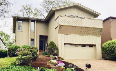 Bellevue Single Family Home For Sale: 608 Harpeth Trace Dr