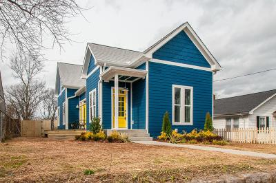 East Nashville Single Family Home Under Contract - Showing: 816 Stockell St