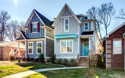 Nashville Single Family Home For Sale: 2317 B N 23rd Ave