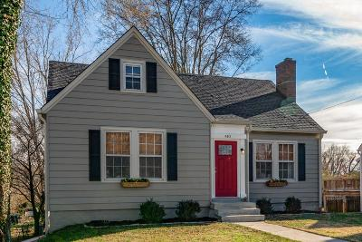 Columbia Single Family Home Under Contract - Showing: 410 3rd Ave