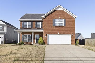 Spring Hill Single Family Home Under Contract - Not Showing: 1005 Longhunter Chase Dr
