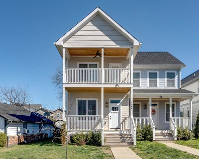 Nashville Single Family Home Under Contract - Showing: 6008 B Pennsylvania Ave