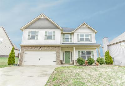 Clarksville Single Family Home Under Contract - Not Showing: 759 Sturdivant Dr
