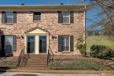 Brentwood Condo/Townhouse Under Contract - Not Showing: 5772 Stone Brook Dr