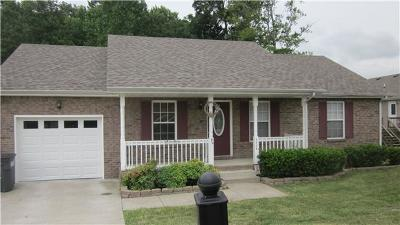 Clarksville Single Family Home Under Contract - Showing: 2664 Cider Dr
