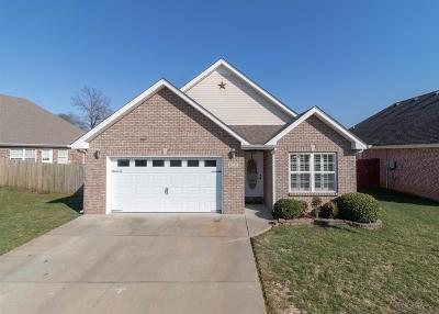 Clarksville Single Family Home Under Contract - Not Showing: 1021 Hendricks Ct