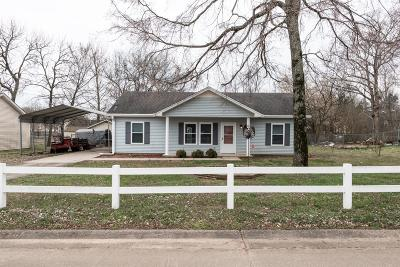 Lavergne Single Family Home Under Contract - Not Showing: 107 Riverwood Dr