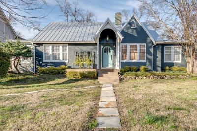 Nashville Single Family Home Under Contract - Showing: 2122 W Linden Ave