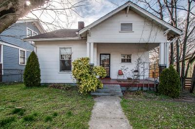 Nashville Single Family Home Under Contract - Showing: 1216 Lischey Ave
