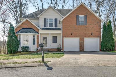 Spring Hill Single Family Home For Sale: 4018 Gersham Ct