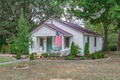 Dickson Single Family Home Under Contract - Not Showing: 701 Dykeman Rd