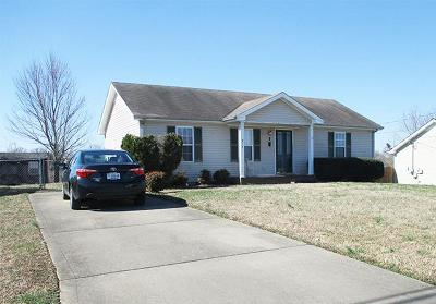 Clarksville Single Family Home Under Contract - Not Showing: 974 Winesap Rd