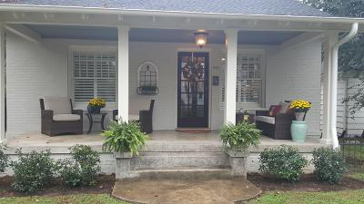 Murfreesboro Single Family Home Under Contract - Not Showing: 512 N E College St