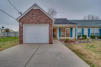Smyrna, Lascassas Condo/Townhouse Under Contract - Not Showing: 714 Dellwood Dr