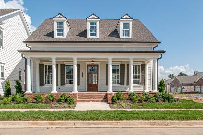 Franklin, Nashville Single Family Home For Sale: 2009 Garfield Street- Lot 129