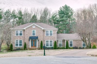 Hendersonville Single Family Home Under Contract - Showing: 101 Ridgemar Trl