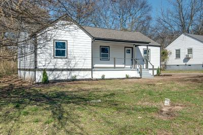 Nashville Single Family Home For Sale: 921 West Ave