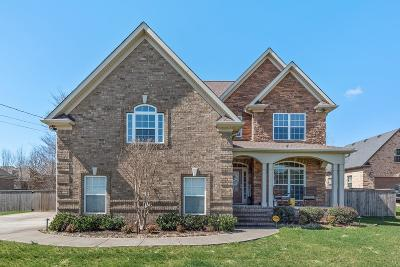 Lavergne Single Family Home Under Contract - Not Showing: 8025 Vineyard Ln