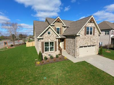 Spring Hill Single Family Home For Sale: 2001 Katach Ct. - Lot 137