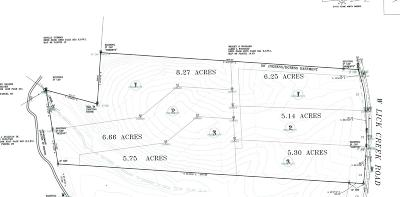 Williamson County Residential Lots & Land For Sale: 1 W Lick Creek